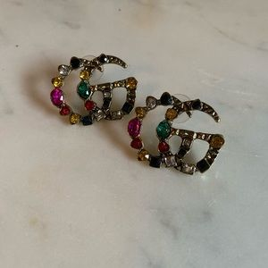Gucci jewel stud earrings